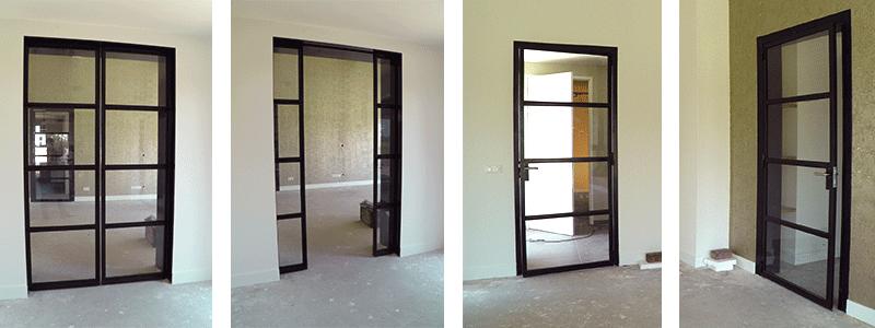 Stalen binnendeuren prima deuren - Kleur binnendeuren ...